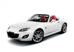 wypożyczenie auta samochodu malaga Mazda Miata